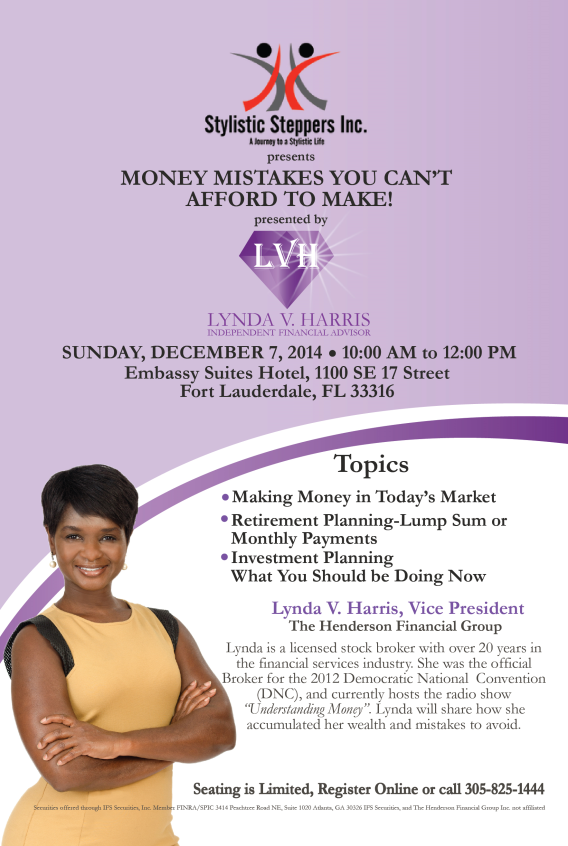 Money Mistakes You Can't Afford To Make!