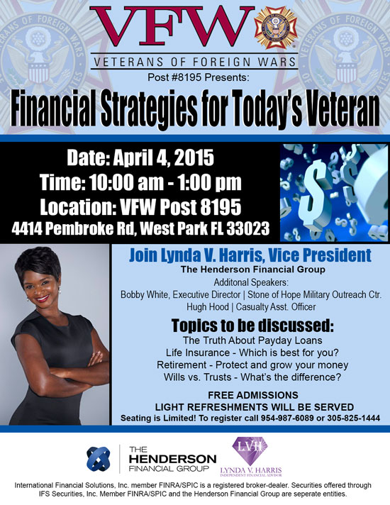 Financial Strategy For Today's Veterans