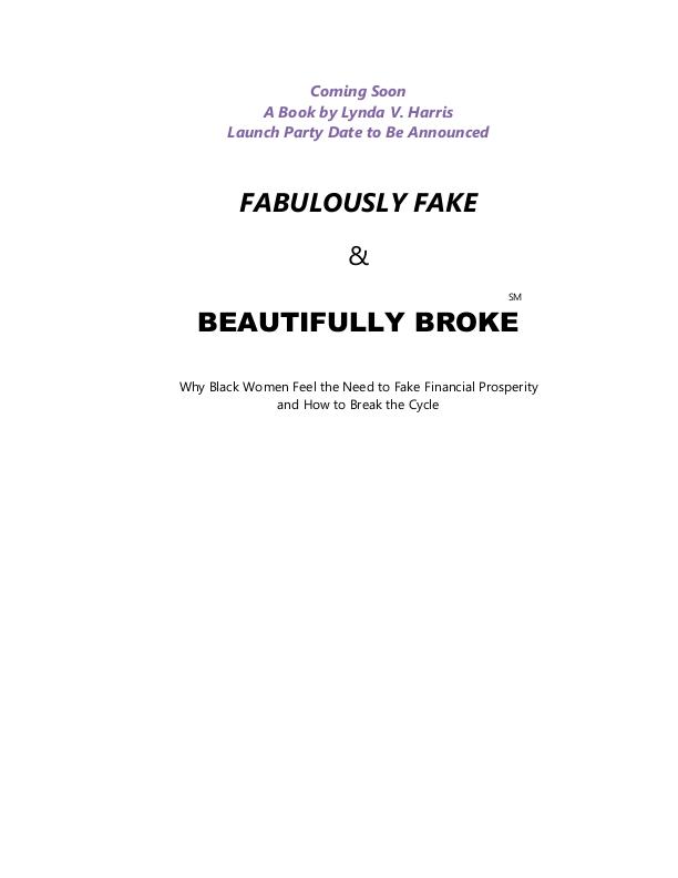FABULOUSLY FAKE & BEAUTIFULLY BROKE